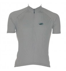 Maillot BBB Solid Jersey Gris BBW-52