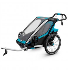 Remolque Thule Chariot Sport 1 Azul Negro