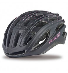 Casco Specialized Propero 3 Black Pink Dots