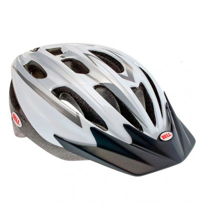 casco Bell Ukon Blanco Plata