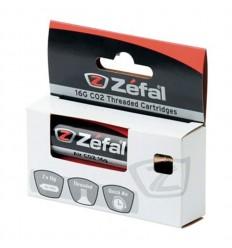 Blister CO2 Zefal con rosca 16g 2unidades