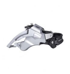 Desviador Deore M590 9X3V - abrazadera baja / Dual Shimano