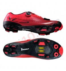 Zapatillas Shimano XC7 MTB Rojo