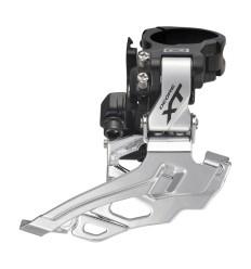 Desviador XT M786 10X2V - abrazadera alta  / Dual Shimano
