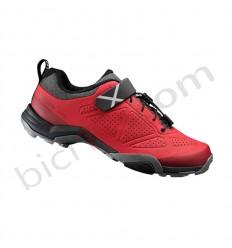 Zapatillas Shimano MT5 MTB Rojo