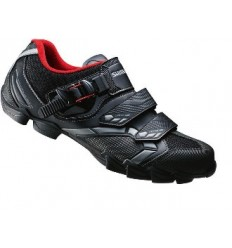 Zapatillas Shimano M088L MTB negro rojo