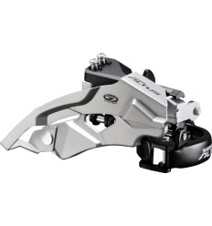 Desviador Altus M370 9X3V - abrazadera baja /  Dual Shimano