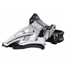Desviador XT M8025 11X2V - abrazadera baja / Dual Shimano