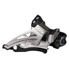 Desviador XTR M9025 11X2V - abrazadera baja / Dual Shimano