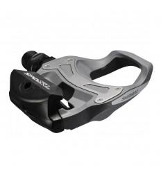 Pedales Shimano  R550 SPD-SL Gris