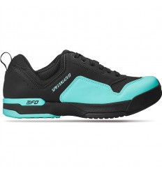 Zapatillas Specialized 2FO Cliplite Lace MTB Black Turquoise