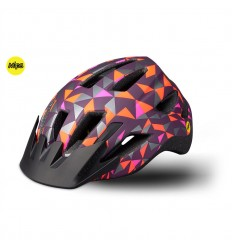 Casco Specialized Shuffle Child Led Mips Cast Berry Geo