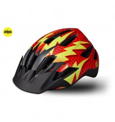 Casco Specialized Shuffle Child Led Mips Rocket Red