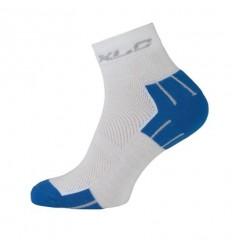 Calcetines coolmax blanco y azul T.43-46 XLC CS-C02