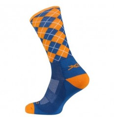 Calcetines All Mountain / Freeride azul / Naranja T.42-45 XLC CS-L02