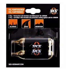 Blister 2 cartuchos de aire CO2 16 g SKS Airgun