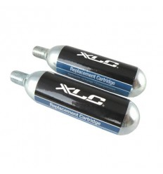Blister 2 cartuchos de recambio CO2 16G XLC PU-M03