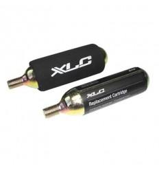 Blister 2 cartuchos de aire CO2 25 g XLC PU-M03