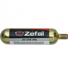 Cartucho de aire Zefal CO2 25 g con rosca