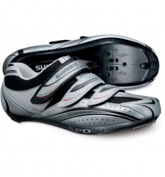Zapatillas Shimano R077 plata negro 41