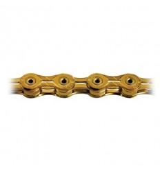 Cadena KMC X-10 SL Gold 10 V oro