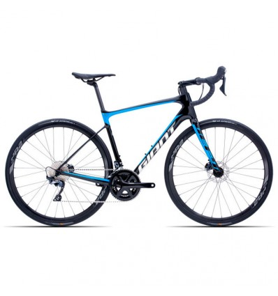 Giant Defy Advanced 1 HRD Carbon Vibrant Blue