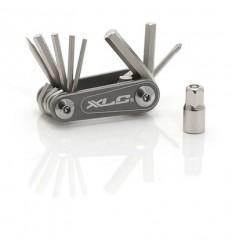 Multiherramientas Nano 9 funciones con llave allen XLC TO-M08
