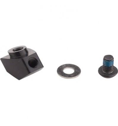 Adaptador para instalación batería en pedalier o vaina