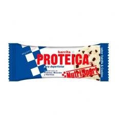Barrita NutriSport Proteica Vainilla Cookies 24u