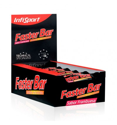 Infisport Faster Bar Frambuesa 25gr 28 Barritas