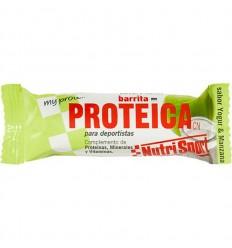 Barrita NutriSport Proteica Yogur Manzana 24u