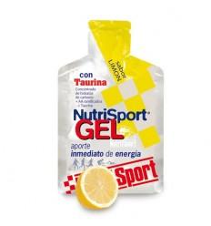 Gel NutriSport + Taurina Limon 24u