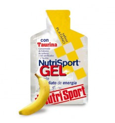 Gel NutriSport + Taurina Platano 24u