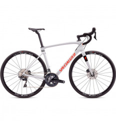 Specialized Roubaix Comp Gloss Dove Gray Rocket Red