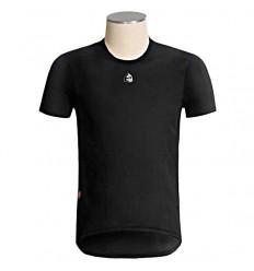 Camiseta interior Etxeondo Belea manga corta negro
