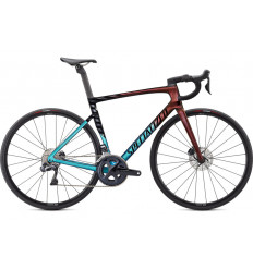 Specialized Tarmac Expert UDi2 Ultra Turquoise Red Gold