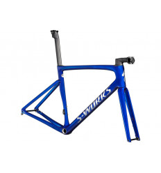 Cuadro Specialized S-Works Tarmac Blue Tint over Spectraflair