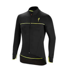 Chaqueta Termica Specialized Element SL Elite Jacket Negro amarillo neón
