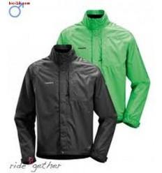 Chubasquero ciclismo Vaude Me Sled Jacket T-M negro