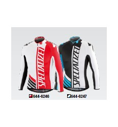 Maillot Specialized Pro Racing manga larga black white blue