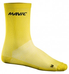 Calcetines Mavic Cosmic High amarillos
