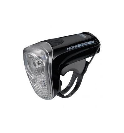 Luz delantera bicicleta BBB HIGHINTEGRATE BLS43 negro