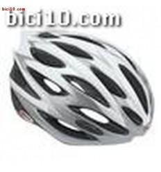 Casco Bell Lumen blanco plata T-M