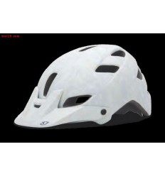 Casco Giro FEATURE T-L blanco mate gris evil