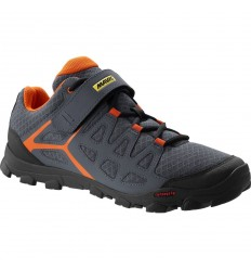 Zapatillas Mavic Crossride gris george orange 2017