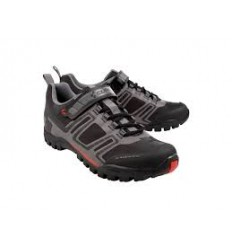 Zapatillas Cube All Mountain MTB negro gris rojo