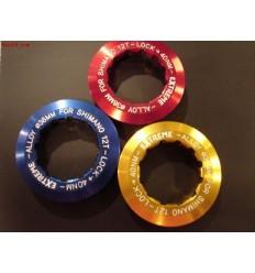 Tapa cassette alum EXTREME Shimano 11T 6,4grs azul