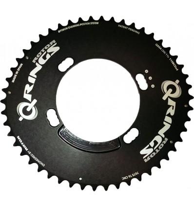 Plato Rotor Q 50Ax110x4 Shimano outer Negro