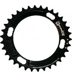Plato Rotor Q 34x110x4 Shimano inner Negro