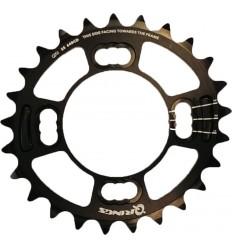 Plato Rotor Q 25t BCD64x4 inner Negro